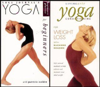 Living Arts 4 VHS Videos Yoga For Beginners / Yoga Conditioning For Weight Loss / Power Yoga For Beginners / Pilates Beginning Mat Workout [4 VHS Videos] Suzanne Deason, Ana Caban, Rodney Yee, Patricia Walden Movies & TV