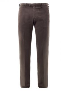 Flat front cotton chinos  Trussardi