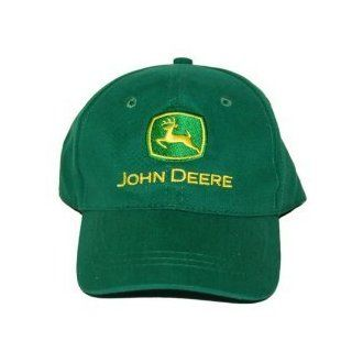 John Deere 2 3T Toddler Adjustable Stretch Cap   Green: Baby Apparel: Clothing