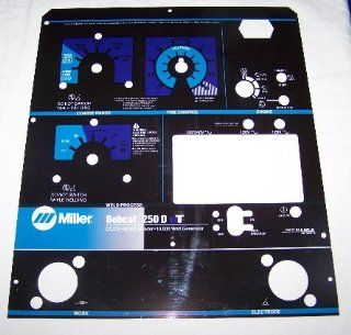 Miller Electric Welder Bobcat 250 DT Control Plate : Other Products : Everything Else