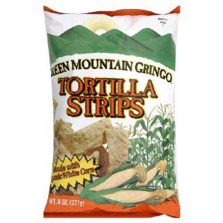 Green Mountain Gringo Tortilla Strips Organic    8 oz Health & Personal Care