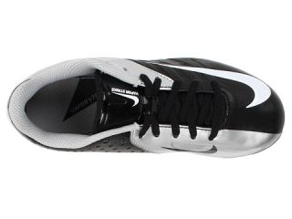 Nike Kids Vapor Strike Low TD 3 (Little Kid/Big Kid) Black/Metallic Silver/White
