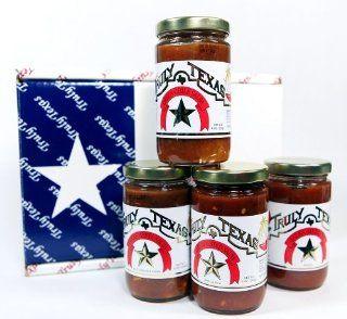 Truly Texas Salsa Saddlebag Kit Gift Box Contains 4 Salsas  Grocery & Gourmet Food