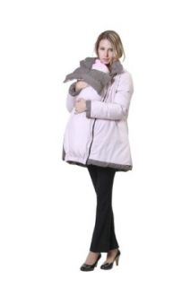 Reversible Down Mama Coat with baby pouch at  Women�s Clothing store