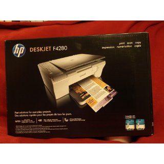 HP Deskjet F4280 All in One   Multifunction ( printer / copier / scanner )   color   ink jet   copying (up to) 26 ppm (mono) / 20 ppm (color)   printing (up to) 26 ppm (mono) / 20 ppm (color)   80 sheets   Hi Speed USB Electronics