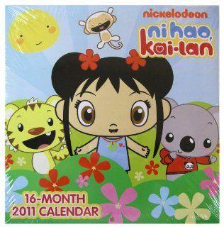 Nickelodeon 16 Month 2011 Ni Hao Kai Lan Calendar   Ni Hao Kai Lan Wall Calendar: Toys & Games