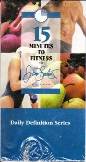15 Minutes to Fitness Daily Definition Series with Jaime Brenkus ~: Daily Definition: Tape 1. Legs, 2. Upper body 3. Gut & Butt 4. Cardio 5. Healthy Back (1996): Jaime Brenkus: Movies & TV