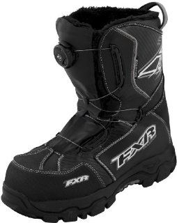 NEW FXR SNOW X CROSS BOA ADULT BOOTS, BLACK, MENS 7/WOMENS 9: Automotive