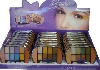 La Femme Eyeshadow and Blusher Combo (Case of 24): Health & Personal Care