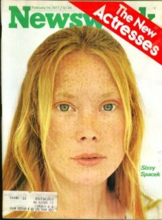 NEWSWEEK Sissy Spacek Jodie Foster Shelley Duvall Talia Shire et al ++ 2/14 1977: Entertainment Collectibles