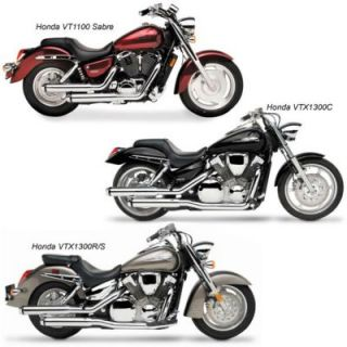 Roadburner Double Eagles Chrome With Slt Exhaust Systems