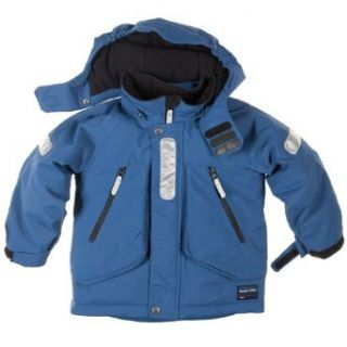 POLARN O. PYRET WEAR EVERYWHERE WINTER JACKET (CHILD)   6 7 years/deep sea: Clothing