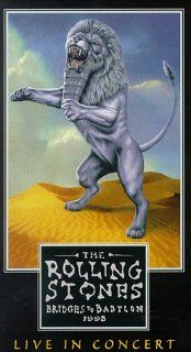 The Rolling Stones   Bridges to Babylon 1998 [VHS]: Mick Jagger, Charlie Watts, Ron Wood, Keith Richards, Bobby Keys, Chuck Leavell, Darryl Jones, Lisa Fischer, Bernard Fowler, Blondie Chaplin, Michael Davis, Kent Smith, Bruce Gowers, Danny O'Bryen, Ja