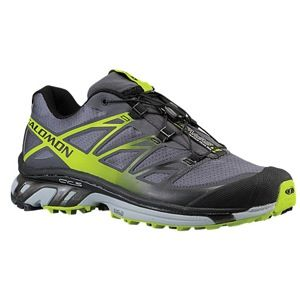 Salomon XT Wings 3   Mens   Running   Shoes   Dark Cloud/Light Onix/Organic Green