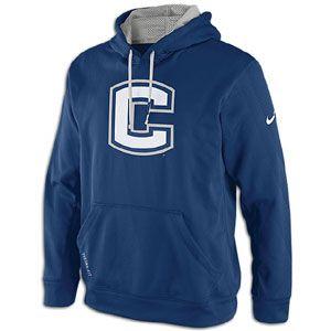 Nike College Therma Fit Performance KO Hoodie   Mens   Football   Clothing   Virginia Tech Hokies   Dark Maroon