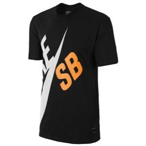 Nike SB Dri Fit Big T Shirt   Mens   Casual   Clothing   Black
