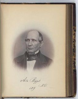 Photo: Asa Biggs, Senator, North Carolina, Thirty fifth Congress, J Vannerson, 1859   Prints