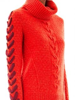 Cable knit wool sweater  Veronica Beard