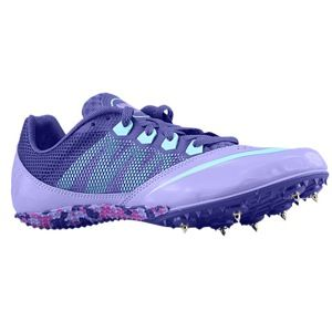 Nike Zoom Rival S 7   Womens   Track & Field   Shoes   Atomic Violet/Glacier Ice/Court Purple