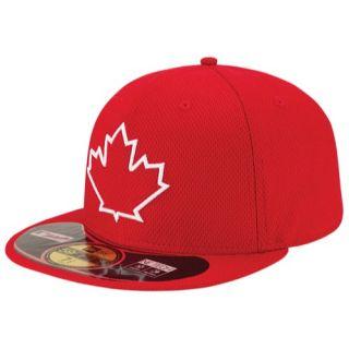 a2754822a5f New Era MLB 59Fifty Diamond Era BP Cap Mens Baseball Accessories Toronto Blue  Jays Red