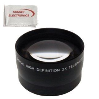 52mm 2.2x Telephoto Lens for the Nikon D3000 D3100 D3200 D3300 D5000 D5100 D5200, D5300, D90, D80 Digital SLR Cameras This Lens Will Attach Directly to the Following Nikon Lenses 18 55mm, 55 200mm, 24mm f/2.8D, 28mm f/2.8D, 35mm f/1.8G, 35mm f/2.0D, 40mm f