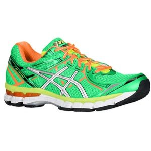 ASICS� GT   2000 V2   Mens   Running   Shoes   Classic Green/White/Orange Clown Fish
