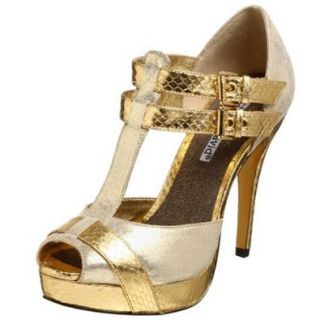 Charles David Women's Sniper Sandal, Gold, 5.5 M: Shoes