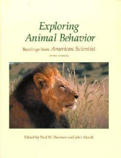 Exploring Animal Behavior: Readings from American Scientist, Fifth Edition (9780878938155): Paul W. Sherman, John Alcock: Books