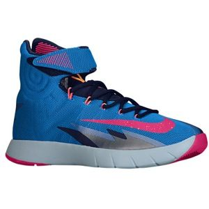 Nike Zoom Hyper Rev   Mens   Basketball   Shoes   Photo Blue/Midnight Navy/Barely Blue/Vivid Pink