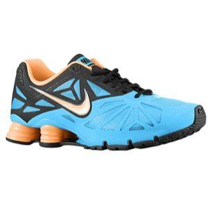 Nike Shox Turbo 14   Mens   Running   Shoes   Vivid Blue/Black/Atomic Mango