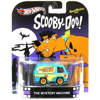 The Mystery Machine SCOOBY DOO 2013 RETRO Hot Wheels 1:64 Scale Die Cast: Toys & Games