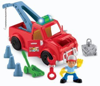 Fisher Price Disney's Handy Manny Fix It Tow Truck Toys & Games
