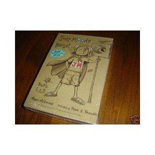 Judy Moody Box Set   Judy Moody, Judy Moody gets famous and Judy Moody saves the World 9780439651806 Books