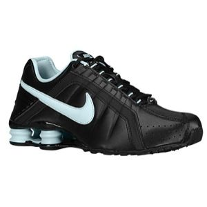 promo code 9fc92 689fb cheapest nike shox junior womens running shoes black teal d9e68 578d0