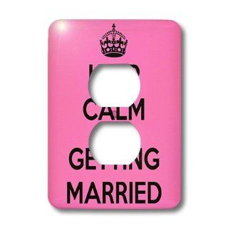 lsp_161162_6 EvaDane   Funny Quotes   Keep calm I'm getting married. Wedding. Engagement. Bride.   Light Switch Covers   2 plug outlet cover   Electrical Outlet Covers