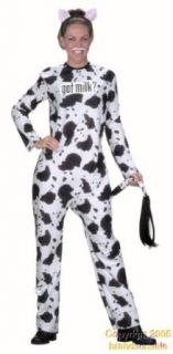 Adult's Got Milk? Cow Halloween Costume: Clothing Accessories Novelty Special Use Costumes Accessories Costumes Women: Clothing