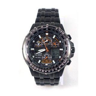 "Citizen Men's JY0005 50E ""Eco Drive Skyhawk A T"" Stainless Steel Watch: Skyhawk: Watches"