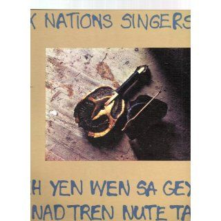Six Nations Singers: Iroquois Social Music (Yeh Yen Wen Sa Gey Had Nad Tren Nute Tah): Gordon Buck (Oneida), Hubert Buck Sr. (Seneca), Hubert Buck Jr. (Seneca), Amos Keye Jr. (Mohawk): Music