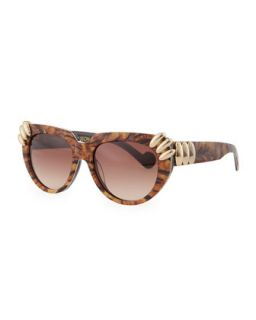Leila and the Ever Changing Sunglasses, Brown   Anna Karin Karlsson   Tiger
