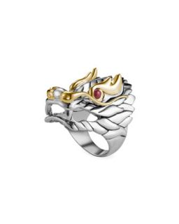 Naga Batu Ruby Eye Dragon Ring   John Hardy   Red (7)