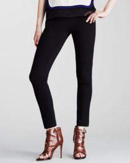 Womens Lena Knit Suiting Pants   Diane von Furstenberg   Black (14)