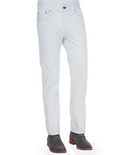 Mens Distressed Straight Leg Jeans, Glacier White   rag & bone/JEAN   White