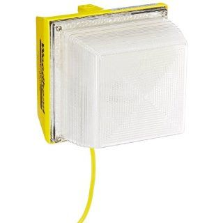 Woodhead 8565 Wide Area Light, Wet Location, HID Lighting, None Outlet, 100W Lamp Wattage, HPS Lamp Type, 10ft Cord Length: Portable Work Lights: Industrial & Scientific