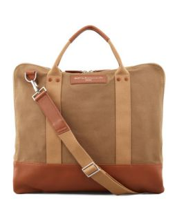 Mens Canvas Commuter Bag, Beige   WANT Les Essentiels de la Vie   Beige