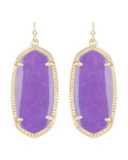 Elle Earrings, Violet   Kendra Scott   Violet