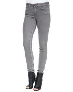 Womens Side Stripe Skinny Jeans, Silver Fin   Vince   Silverfin (29)