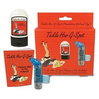 Tickle Her Gspot Kit (1 oz Gel, Vibe And Guide) Health & Personal Care