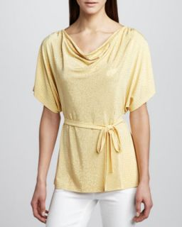 Womens Concert Mezzo Top   Grayse   Yellow (MEDIUM)