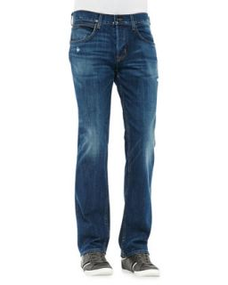 Mens Byron Lyric Jeans, Medium Blue   Hudson Jeans   Blue (31)