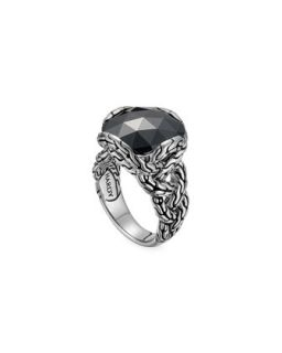 Batu Chain Hematite Ring, Medium   John Hardy   Black (7)